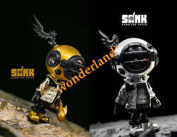 Sank The Child Sliver And Gold Sank Toys Fashion Cute Collector Limited Figure