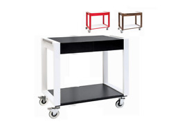 Italian Cooking Store Series Smile Trolley Set Two-coloured Made In Italy