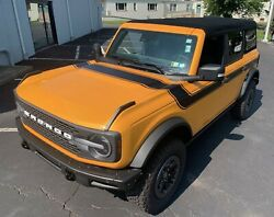 Fits 2021-up Ford Bronco Retro Special Decor Style Side/hood Graphics Kit Wide