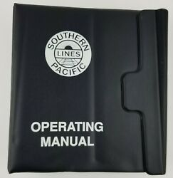 Vintage 1994 Southern Pacific Lines Railroad Operating Manual In Original Binder