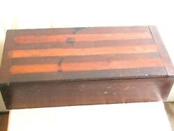 1880/1910 Ferry Morse Seed Co Rare Hareware Store Wooden Box Display As Is