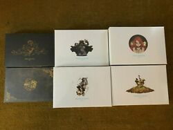 Kingdom Death Monster Pinups Of Death 1-5 And Satan Twins New And Sealed
