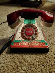 Vintage Coca Cola Lighted Phone - Collectible Telephone