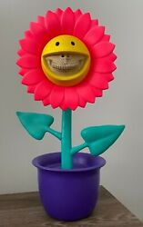 Shocking Sunflower Ron English X Apportfolio Made By Monsters Smiley Grin Pink