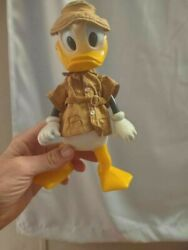 Rare Beautiful Vintage Plastic And Moveable Donald Duck