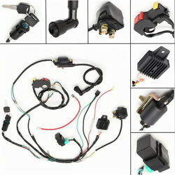50 70 90 110cc 125 Cdi Wire Harness Assembly Atv Electric Start Quad Wiring Kit