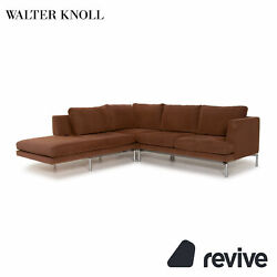 Walter Knoll Good Times Fabric Corner Sofa Braun Function Couch