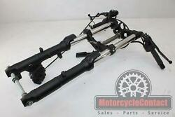 18-19 Ninja 400 Abs Front End Forks Fork Triple Tree Clamp Top Bottom Left Right