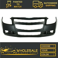 Fits 2008-2012 Chevy Malibu Front Bumper Cover Painted