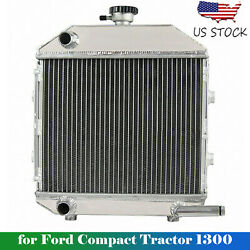 For Ford Compact Tractor 1300 Engine Sba310100211 Aftermarket Radiator