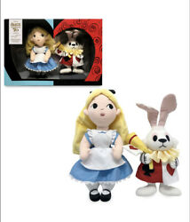 Disney Alice In Wonderland Mary Blair Plush Set Limited Release New In Box