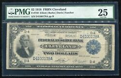 Fr. 759 1918 2 Two Dollars Andldquobattleshipandrdquo Frbn Cleveland Oh Pmg Very Fine-25
