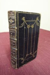1710 French Geneva Bible- N T And Psalter Only- Black Morocco Leather- Amsterdam