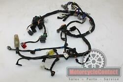 11-15 Gsxr 750/600 Main Engine Wiring Harness Video Electrical Wire Motor