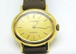 Jaeger Le-coultre Ladies Yellow Gold 18k. Automatic Watch Production 70and039s