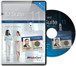 Alphacard Id Suite Standard Id Card Software - Magnetic Stripe Encoding Abs230