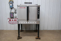 Blodgett Natural Gas Full Size Single Deck Convection Oven Dfg-100-3