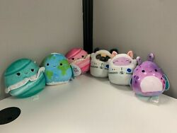 Squishmallow New 5 Inch Space Squad Set Of 6