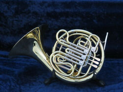 Holton Farkas H378 Double French Horn Ser709580 Beautiful Sound With Mpc