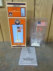 Lionel Flagpole With Lights 6-16896