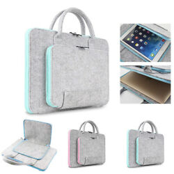 Wool Felt Laptop Bag 11 13 15 17 inch Tablet Mouse Bags Briefcase For Notebook $13.94