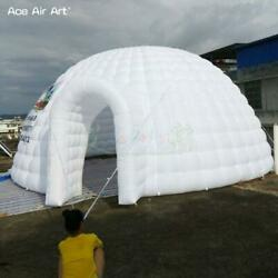 19ft/26ft Giant White Inflatable Igloo Tent Air Dome Model Marquee For Display