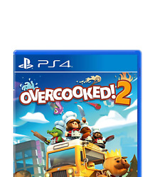 Overcooked 2 Ps4 Sony Playstation 4 2018 Brand New - Region Free
