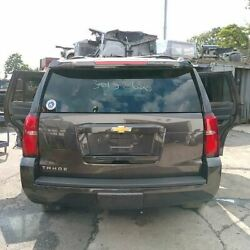 Trunk/hatch/tailgate Privacy Tint Glass Fits 15-18 Suburban 1500 612186