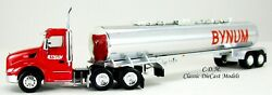Peterbilt 579 Day Cab Bynum Transport W/chemical Tanker Ho 1/87 Scale Tns047