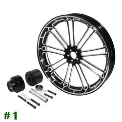 26 X3.5and039and039 Front Wheel Rim Hub Single Disc Fit For Harley Road Glide 2008-2021