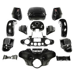 Fairings Bodywork Set Fit For Harley Cvo Limited 2015-up 18 Black Earth Fade Us