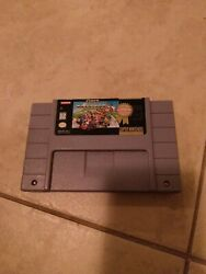Super Mario Kart Players Choice Authentic Snes Super Nintendo Game Tested...
