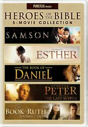 Uni Dist Corp Mca D24213249d Heroes Of The Bible 5-movie Collection Dvd