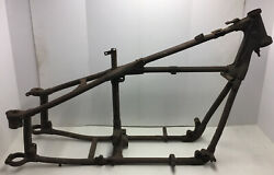 1948 Indian Chief Motorcycle Frame And Seat Post