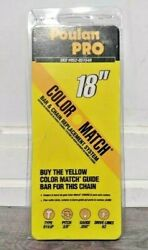 Poulan Pro 18 Inch Replacement Chainsaw Chain Fits 62dl Type 91vjp Lot Of 2