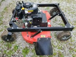 Extremely Clean Dr 44tf Pull Behind Finish Lawn Mower In Ohio