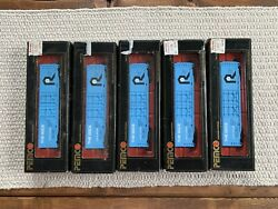Vintage Pemco Ho Model Train The Rock Lot - 5 Trains In Boxes