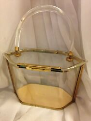 Majestic 1950and039s Lucite Purse