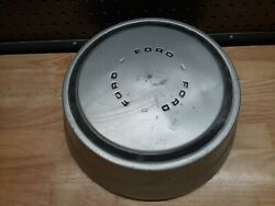 Old Vintage Ford Advertising Dog Dish Bowl Axle Hubcap Cap Cover Part