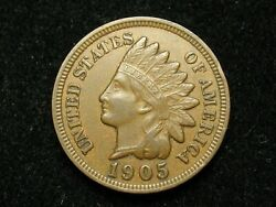 2021 Sale Xf 1905 Indian Head Cent Penny W/diamonds And Full Liberty 135