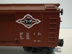 O Gauge Texas Pacific Railway Box Car From Railking By Mth