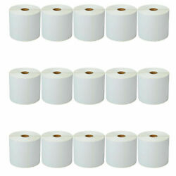 15roll 4x6 500 Direct Thermal Label For Zebra Lp2844/2442 Tlp2844 Lp2543 Gx420t