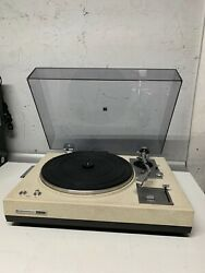 Vintage Kenwood Kd-2055 Belt Drive Turntable With The Box