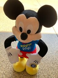 Disney Mickey Mouse Clubhouse Hot Diggity Dog Dance And Play Toy -new