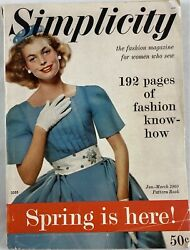 1960 Simplicity Vintage Magazine For Fashion And Sewing Small Format