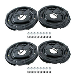 2x Left And Right 12 X 2 Electric Trailer Axel Brake Assembly 5200lb - 7000 Lb