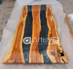 Epoxy Table Live Edge River Table Resin Epoxy Table Wooden Dining Furniture A010