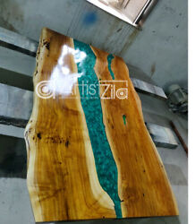 Epoxy Table Live Edge River Table Resin Epoxy Table Wooden Dining Furniture A014