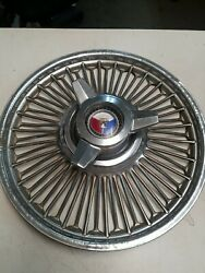 1960-65 Vintage Ford Falcon Mustang Hubcap Wire Spoke Spinner 14 Wheel Cover 4