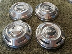 67 68 69 70 71 72 73 74 75 76 Ford F250 Dog Dish Hubcap Stainless Set Of 4